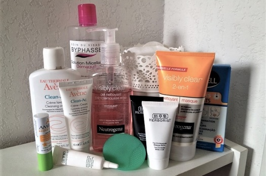 Night Routine Printemps 2014 : Soins du visage