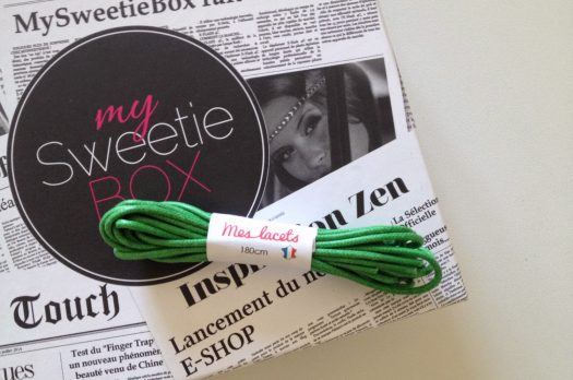 MY SWEETIE BOX Septembre 2014 : Street Edition