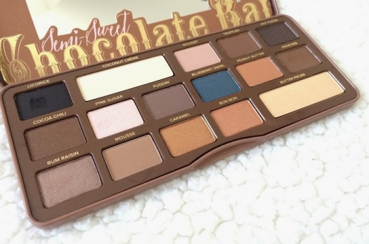 Nouveauté Too Faced : La palette Semi-Sweet Chocolate Bar