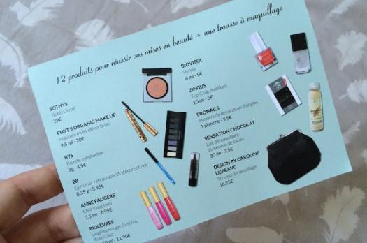 BETROUSSE Make Up Touch : La box pour une belle mise en beauté!