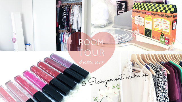 room tour 2015 rangement make up astuces la petite frenchie. Black Bedroom Furniture Sets. Home Design Ideas