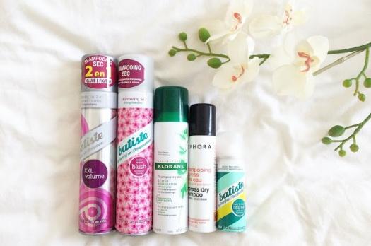 Le combat des shampooings secs : Qui sera le meilleur ?