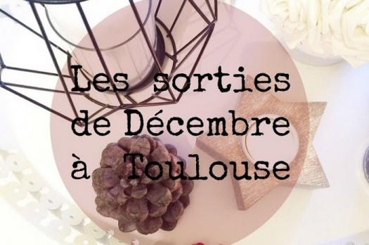 AGENDA 2015 : Les sorties de Décembre à Toulouse