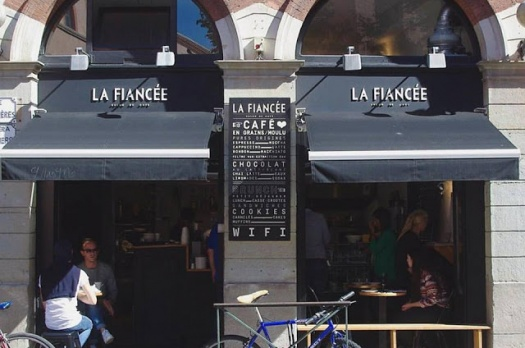 FRENCHIE IN THE CITY : Le salon de café La Fiancée