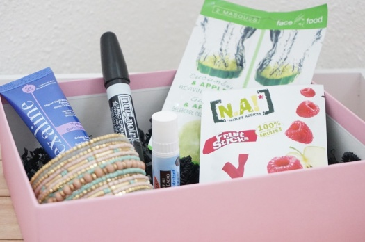 MY SWEETIE BOX Avril 2016 : Fille d'Avril