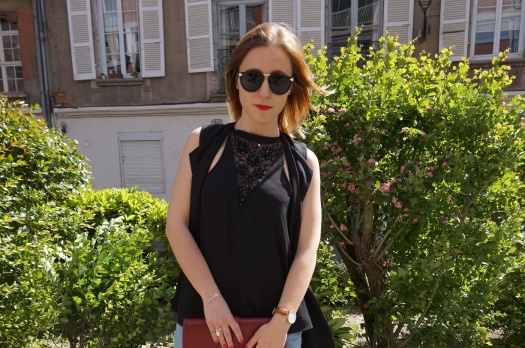 LOOK n°53 : Street chic & bordeaux