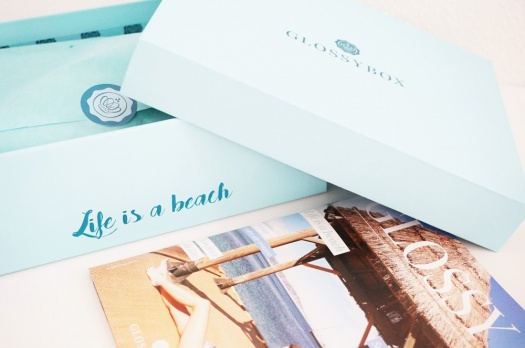 GLOSSYBOX Juillet 2016 : Life is a beach