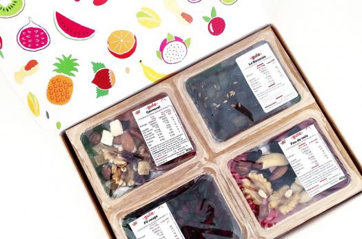 GULA : Snacks sains des 4 coins du monde !