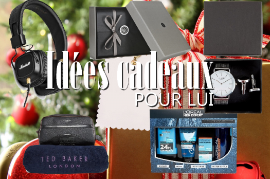 🎁⛄️ Idées cadeaux de Noël 2016 : POUR LUI