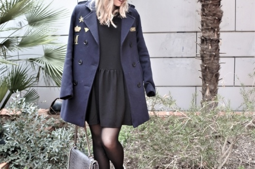 LOOK n°80 : Navy coat