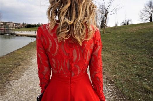 LOOK n°77 : Sexy en rouge pour la Saint-Valentin