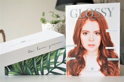 GLOSSYBOX AVRIL 2017 : We Love Green
