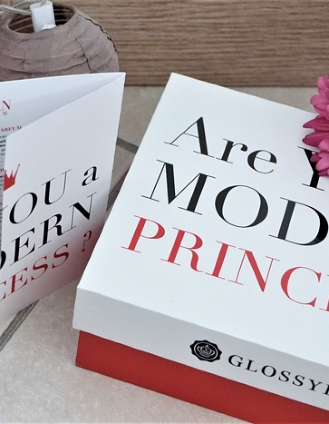 GLOSSYBOX x LANVIN : Are You A Modern Princess ?