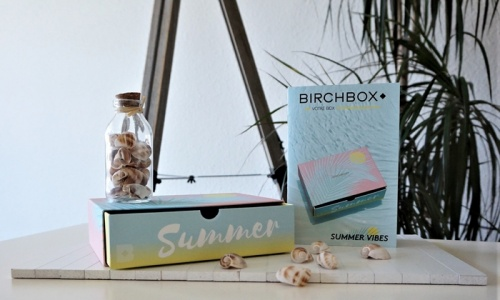 BIRCHBOX JUILLET 2017 : Summer Vibes