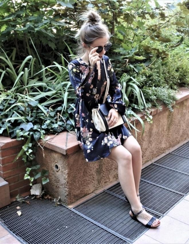 LOOK n°101 : Robe kimono