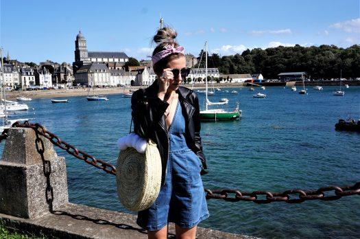 LOOK n°106 : Denim & panier rond à Saint-Malo