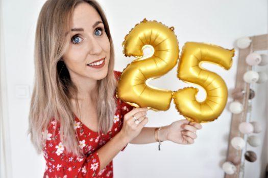 25 ANS = 25 CHOSES SUR MOI