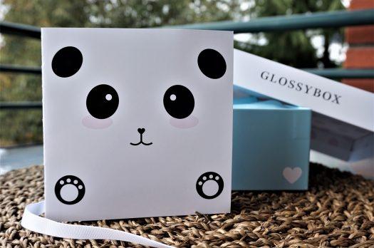 GLOSSYBOX Édition Limitée : Panda Box