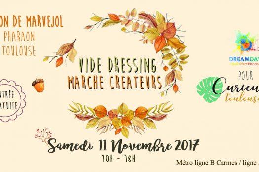 SAVE THE DATE : Vide-dressing des blogueuses & marché de créateurs toulousains