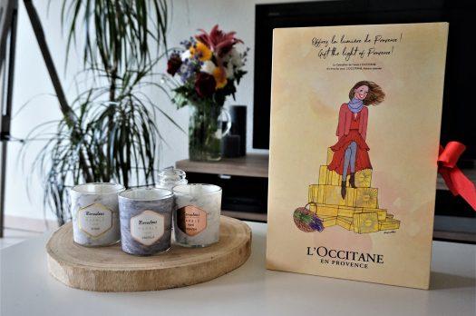 Faire le plein de soins avec le Calendrier de l'Avent L'Occitane 2017