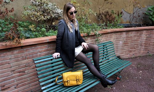 LOOK n°118 : Gold skirt
