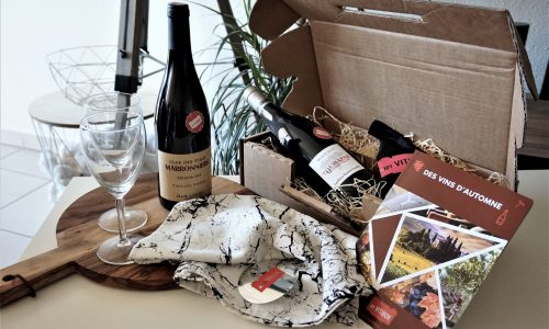 MY VITIBOX Novembre 2017 : Des vins d'Automne