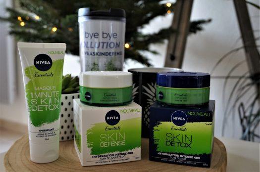 Soins Skin Detox Nivea pour les peaux urbaines et stressées
