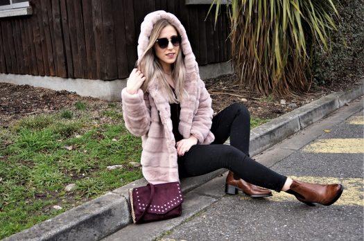 LOOK n°127 : Manteau tout doux