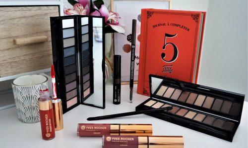 Nouveautés maquillage Yves Rocher : Yeux, sourcils & lèvres