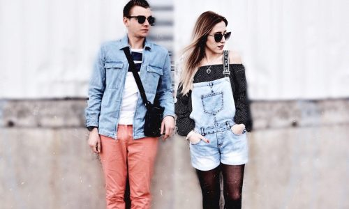 LOOK EN DUO : Look tendance jeans en couple