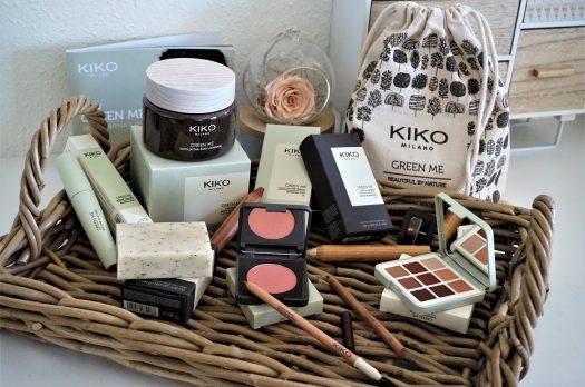 Collection Green Me Kiko : Quand la marque se met au vert !