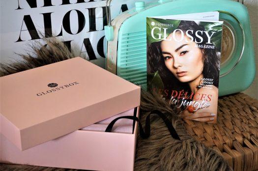 GLOSSYBOX AVRIL 2018 : Les délices de la Jungle