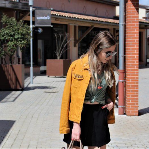 LOOK n°139 : Veste jaune & tendances Printemps/été